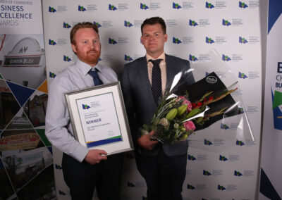 Business Excellence awards presenting