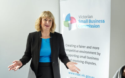 Judy O'Connell: Victorian Small Business Commissioner
